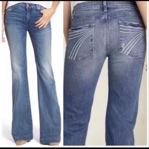 Seven for All Mankind light was Dojo Flare Jean